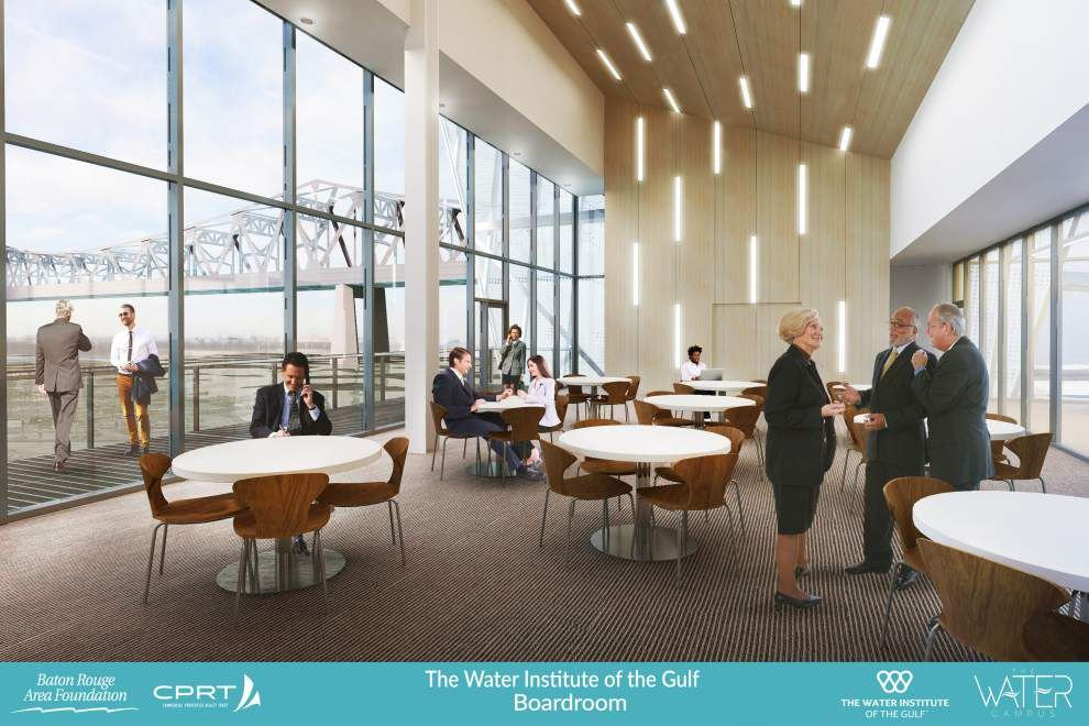Riverfront eyesore in Baton Rouge to be transformed into world-class facility for The Water Institute of the Gulf _lowres