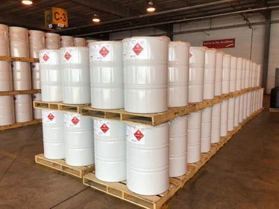 ExxonMobil. Isopropyl Alcohol Drums.Pic2..4.1.2020.jpg