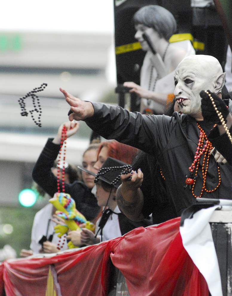 Photos: Friendly ghosts, dancing zombies roll through downtown Baton Rouge during Halloween parade _lowres