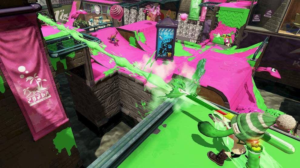 'Splatoon' brings colorful glee to online shooters _lowres
