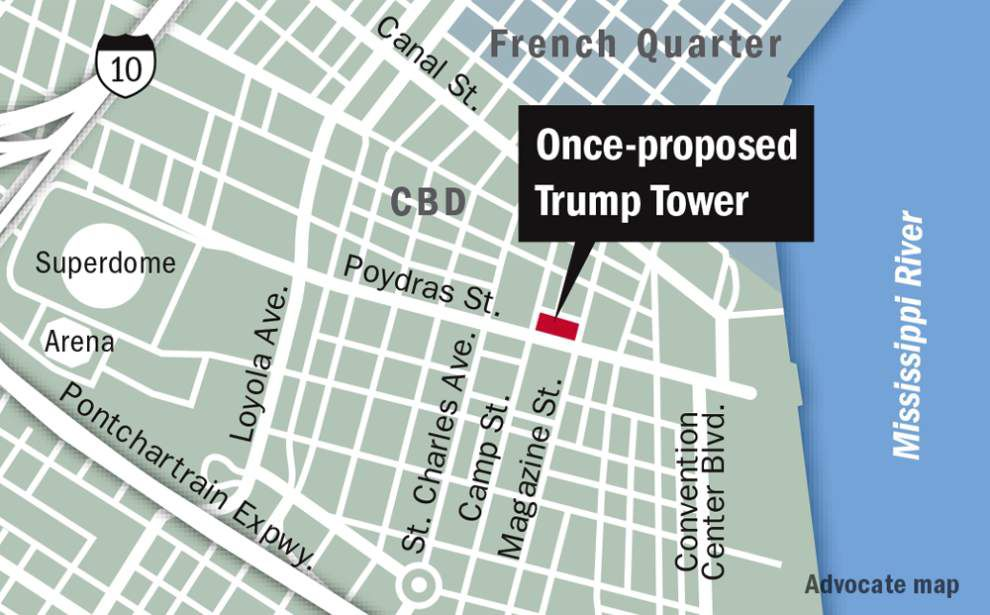 Whatever happened to planned Trump Tower skyscraper on Poydras Street? _lowres
