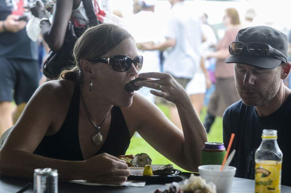 Photos: New Orleans Oyster Festival: What are you: A 'shucker' or an 'eater'? _lowres