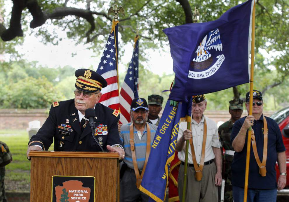 Photos: Remembering the fallen: Memorial Day service at Chalmette National Cemetery _lowres