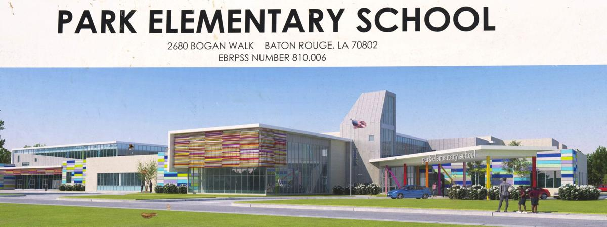 More Than Half Complete New Park Elementary Points To