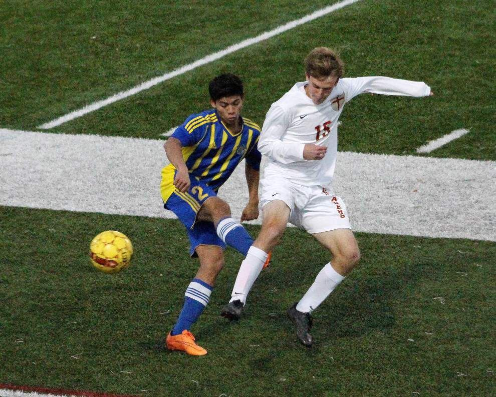 Brother Martin shuts out East Ascension to advance in Division I boys soccer playoffs _lowres