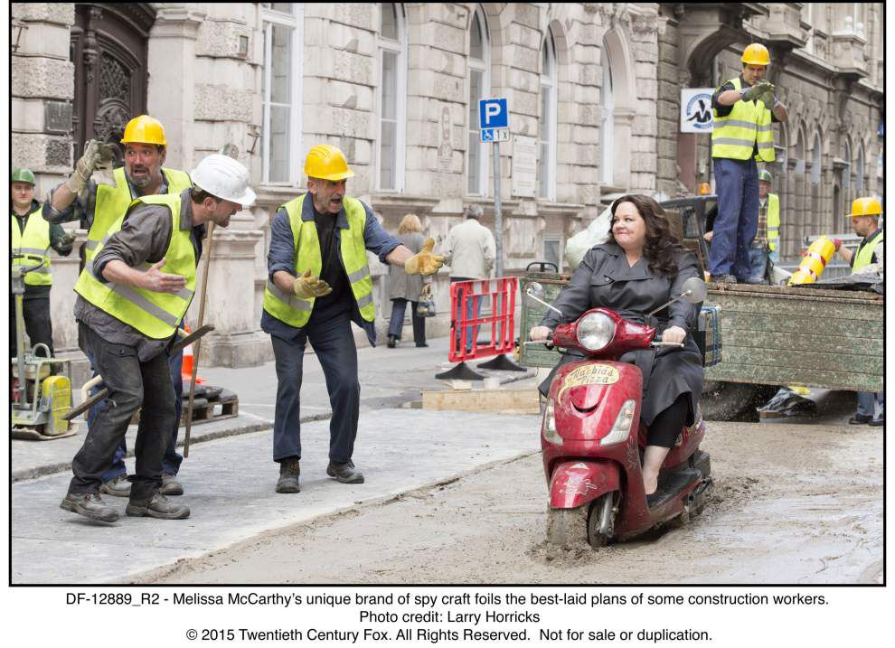 Review: Melissa McCarthy stars in spy spoof _lowres