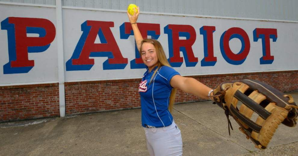 John Curtis pitcher Peyton Pigniolo named second team CBS MaxPreps Softball All-American _lowres