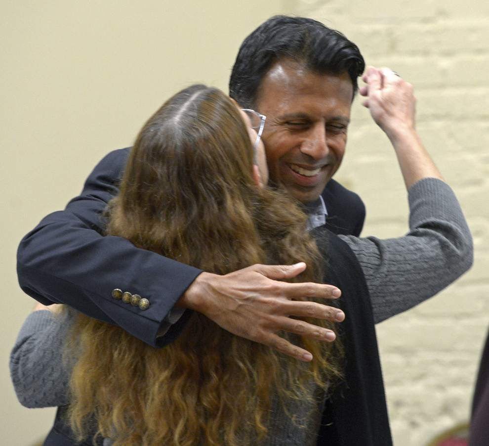 Bobby Jindal sets off on farewell tour, denies he'll run for U.S. Senate seat; calls higher education budget a 'negotiated process' _lowres