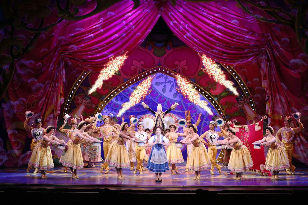 'Disney's Beauty and the Beast' comes to the Saenger Theatre _lowres