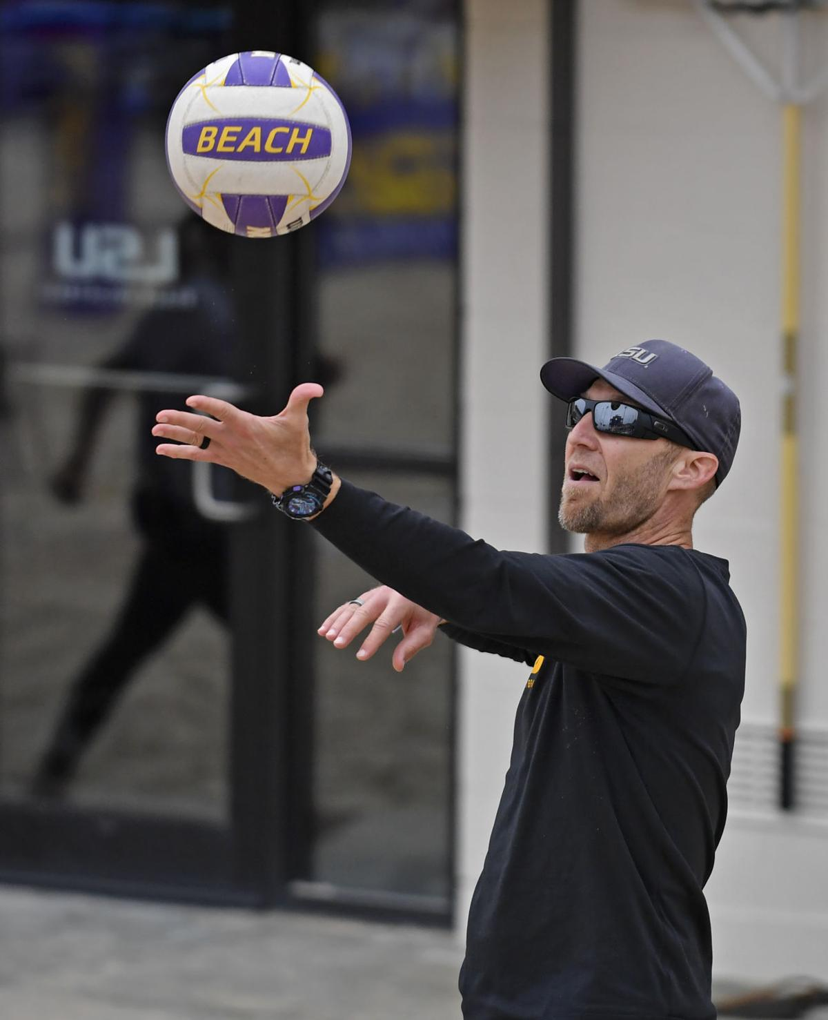 Coach Russell Brock Had Visions Of Grandeur For Top Ranked Lsu Beach Volleyball Team Lsu Theadvocate Com