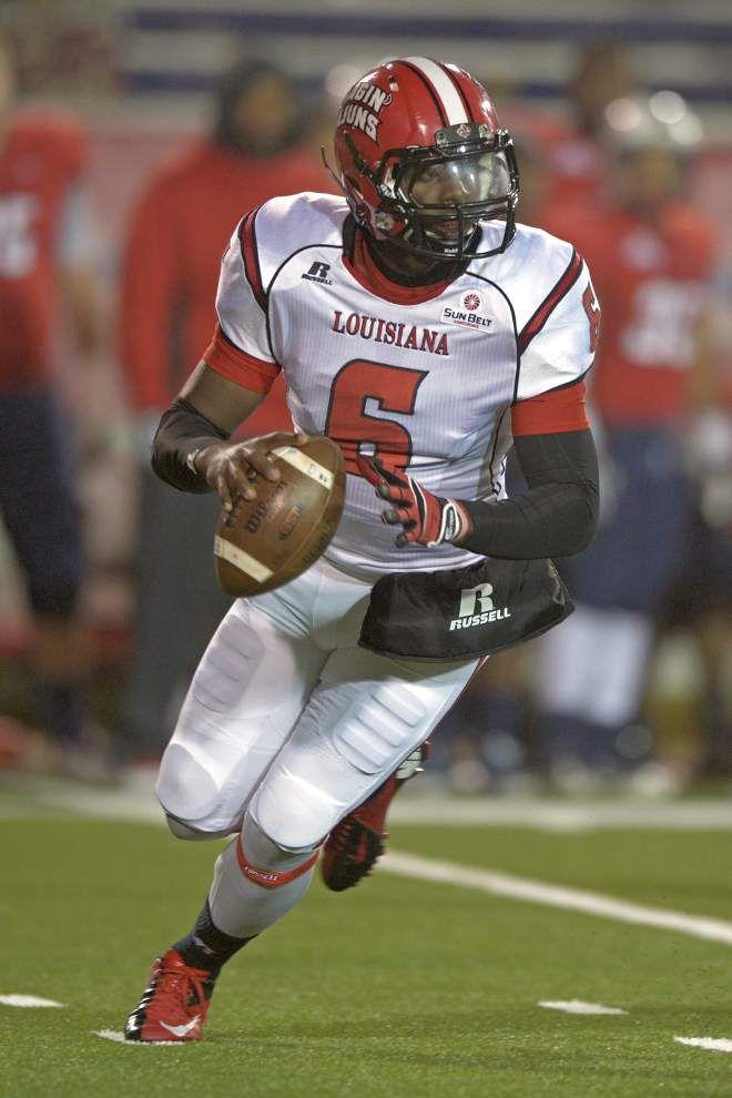 Cajuns quarterback decision made, not revealed _lowres