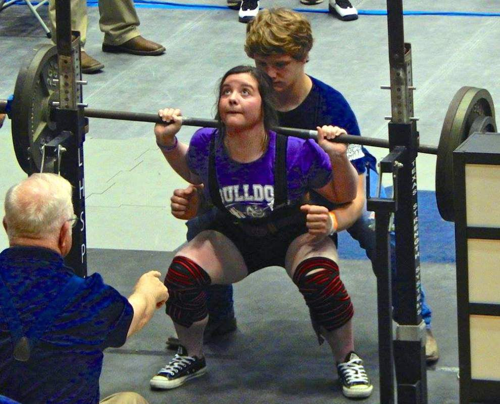State powerlifting meet: Lutcher girls win 10th straight title, Ascension Catholic girls claim second straight _lowres
