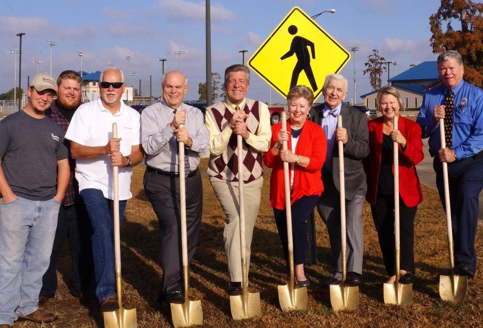 Parish Lines: Officials break ground for Chalmette walking trail _lowres