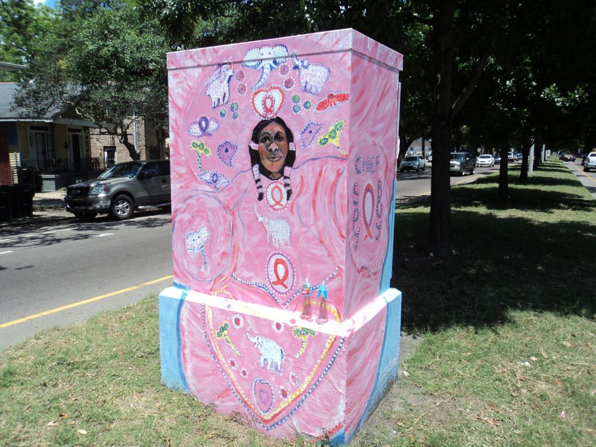 Blake Pontchartrain: Albert Polite Jr. and New Orleans utility box art_lowres