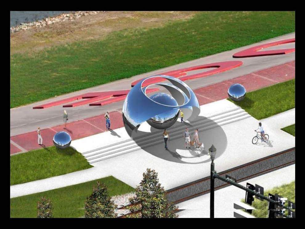 'Iconic' sculpture planned for riverfront _lowres