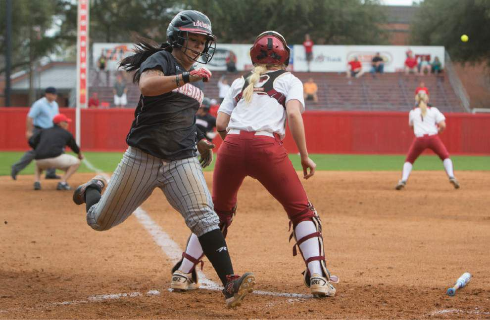 Cajuns' Samantha Walsh taking new role in stride _lowres