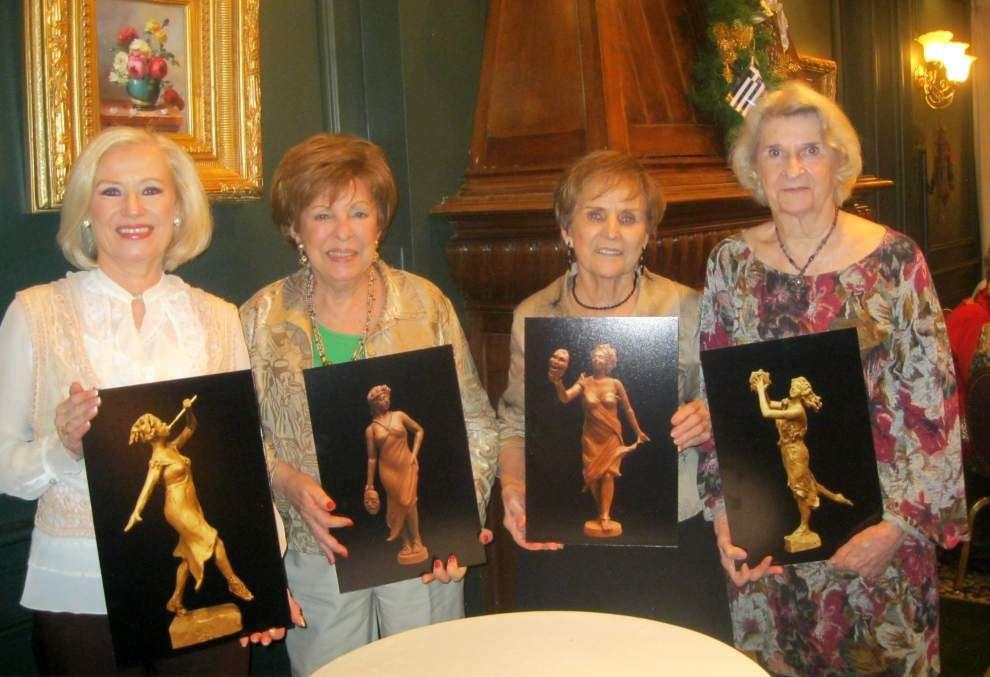 Jefferson Beautification plans Muses statues for public garden _lowres