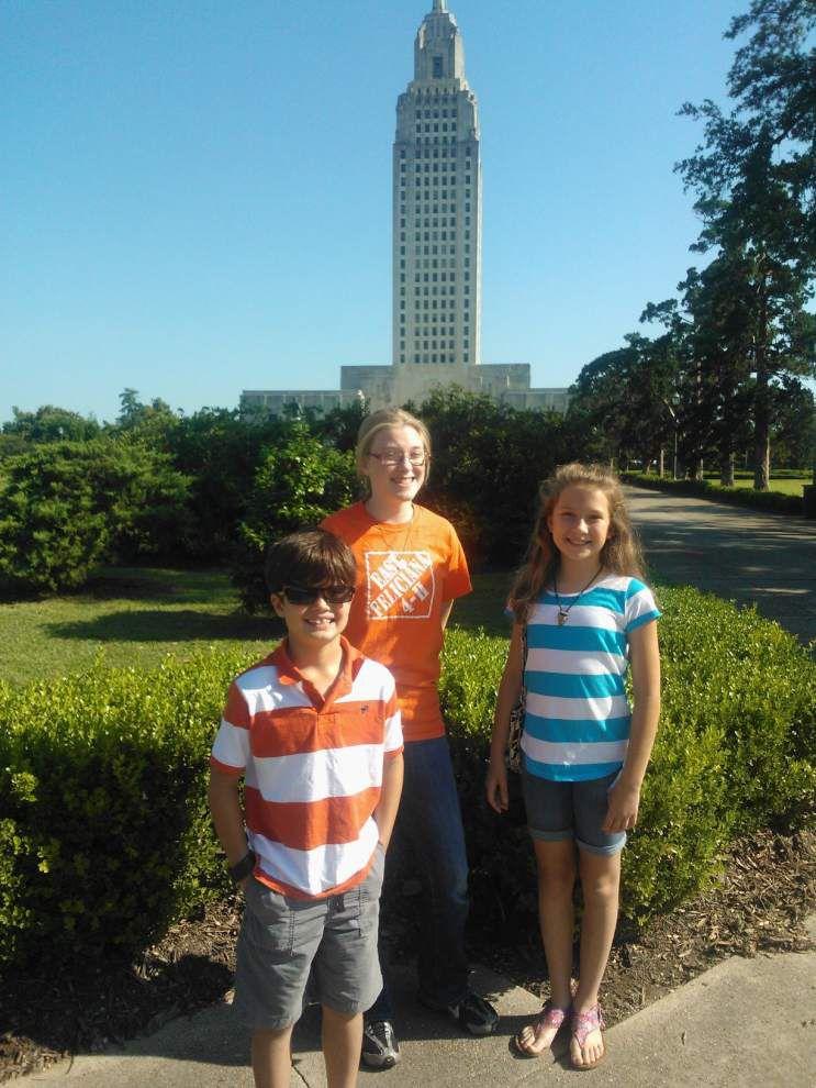 4-H members visit Capitol _lowres
