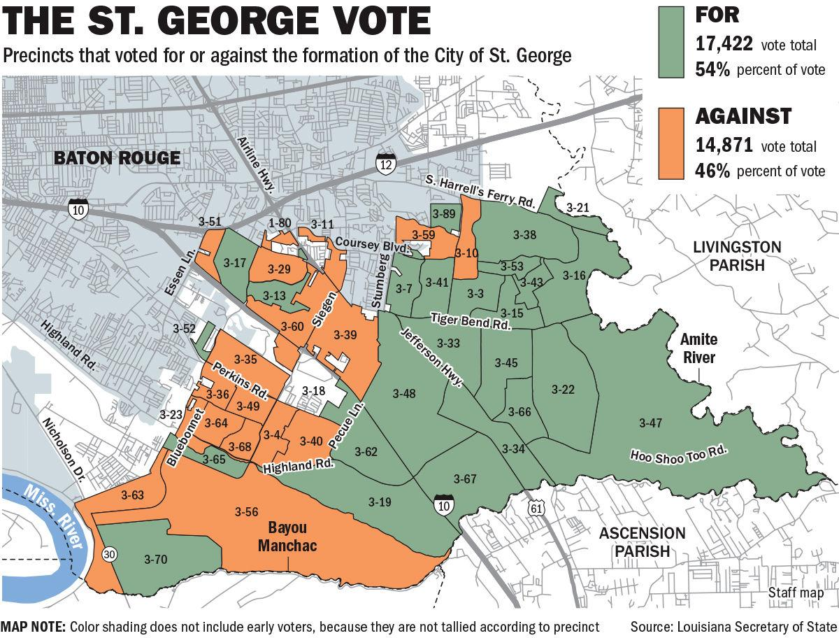 101419 St. George precinct vote map