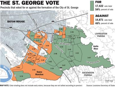 Letters St George Vote Has Repercussions Across Baton Rouge Letters Theadvocate Com