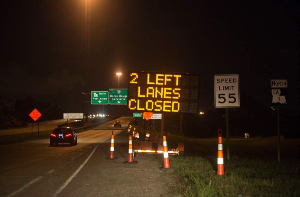 Officials expect minimal traffic snarls during I-10 bridge painting _lowres