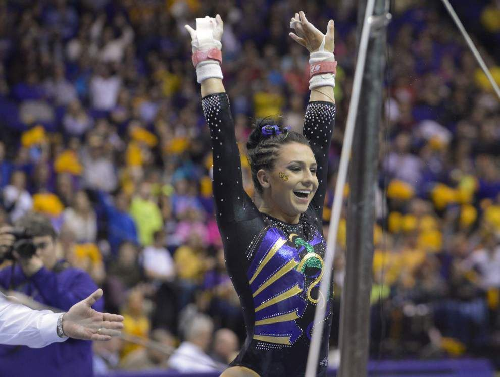 LSU gymnasts up to No. 2, next up No. 5 Crimson Tide _lowres