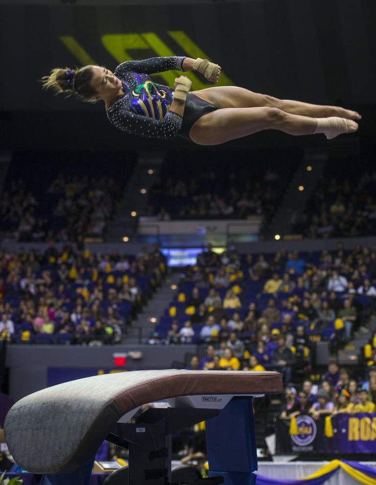 LSU gymnastics: Ashleigh Gnat remains No. 1 in the nation on vault _lowres