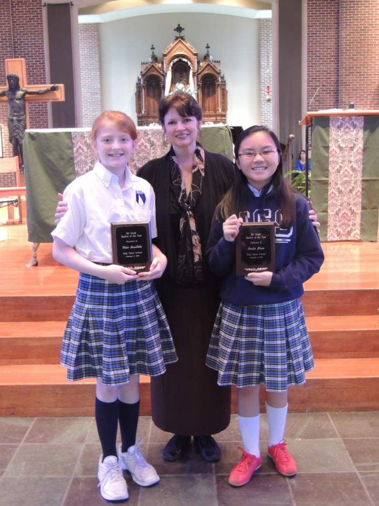 Four Holy Ghost students honored with awards _lowres