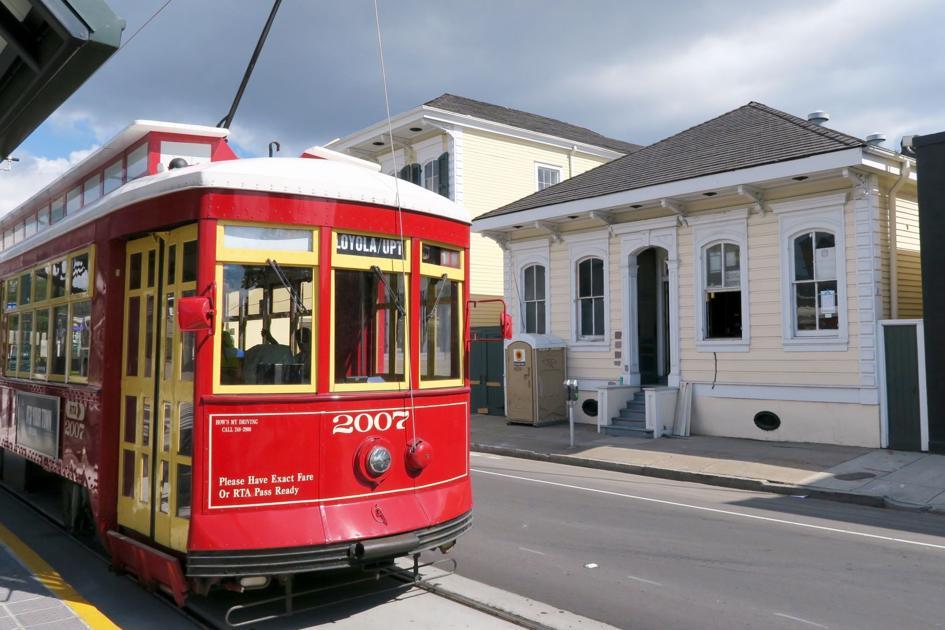 Street Car New Orleans Westbank