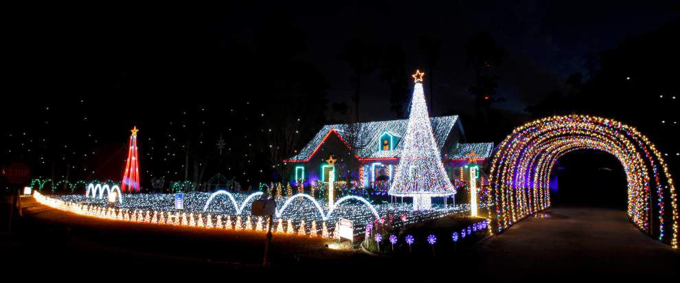 Slidell family's light display aims to help charity _lowres