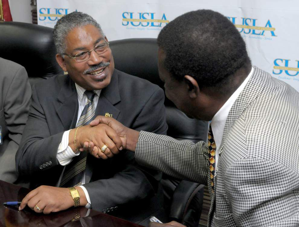 Ray Belton named new Southern University System leader _lowres