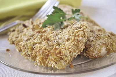 Oven Fried Crunchy Chicken0003.JPG