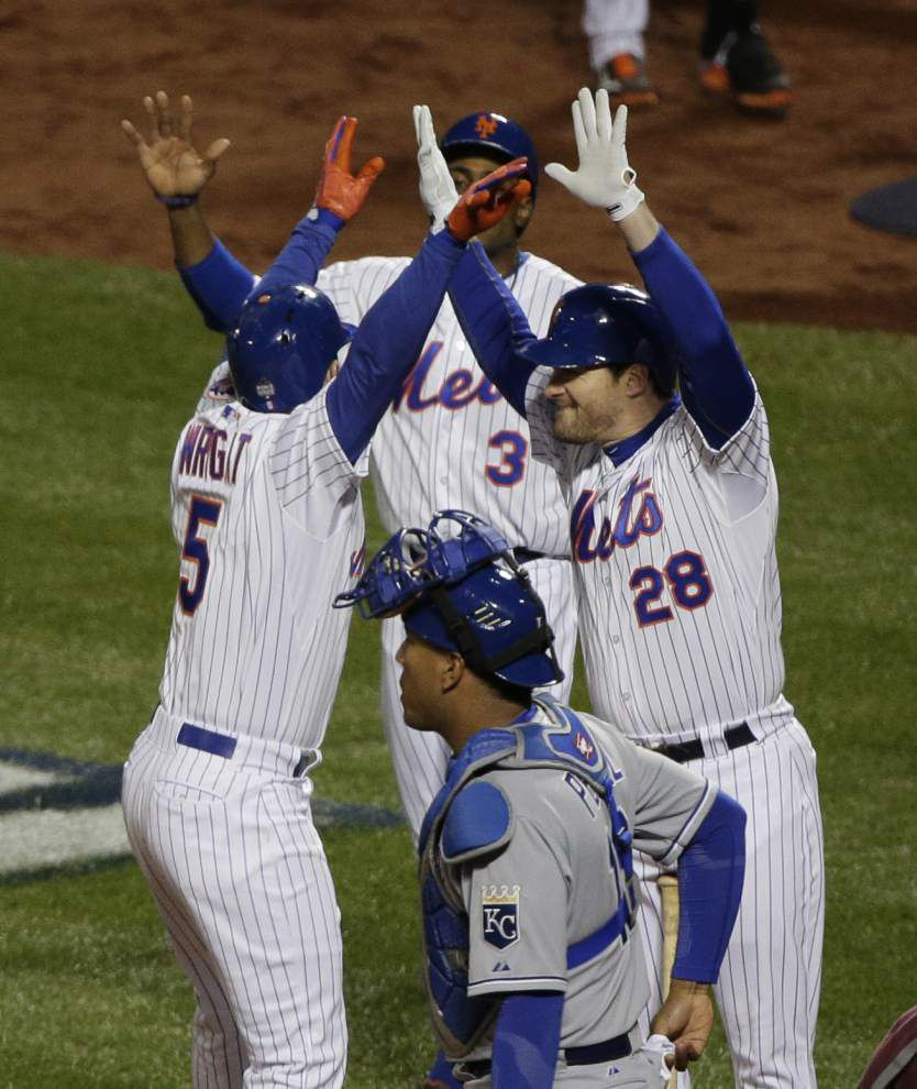 Long balls from Wright and Granderson help Mets trim World Series deficit in 9-3 win _lowres