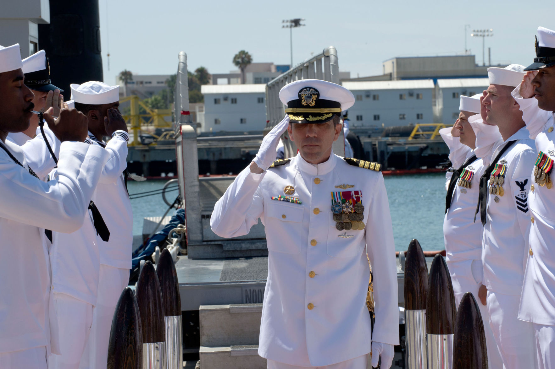 Albany native takes command of Navy submarine squadron | Mid