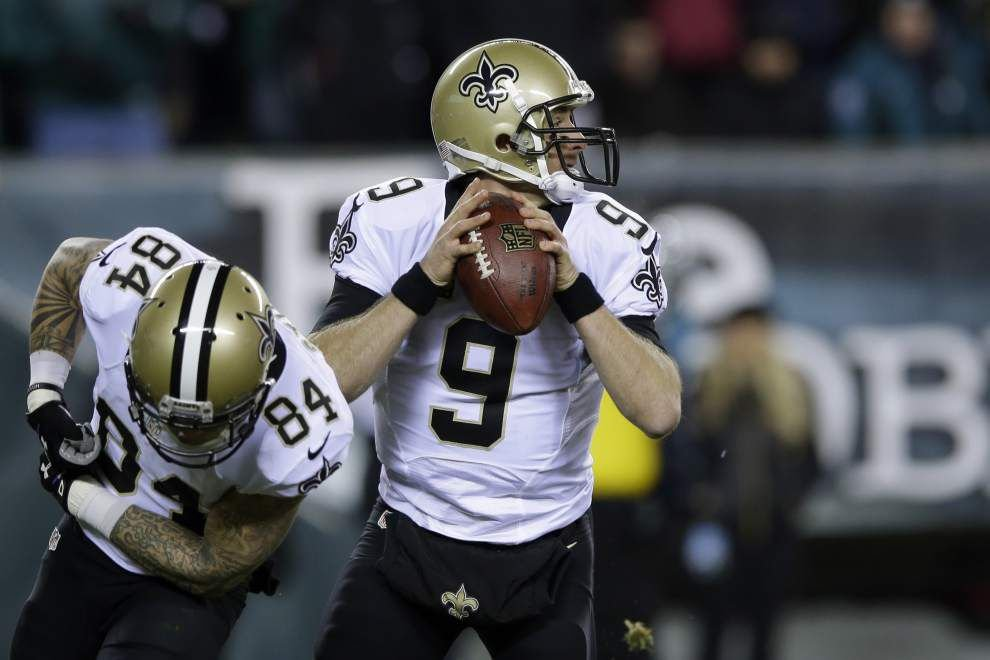 Saints defeat Eagles 26-24 in an NFC Wild Card game _lowres