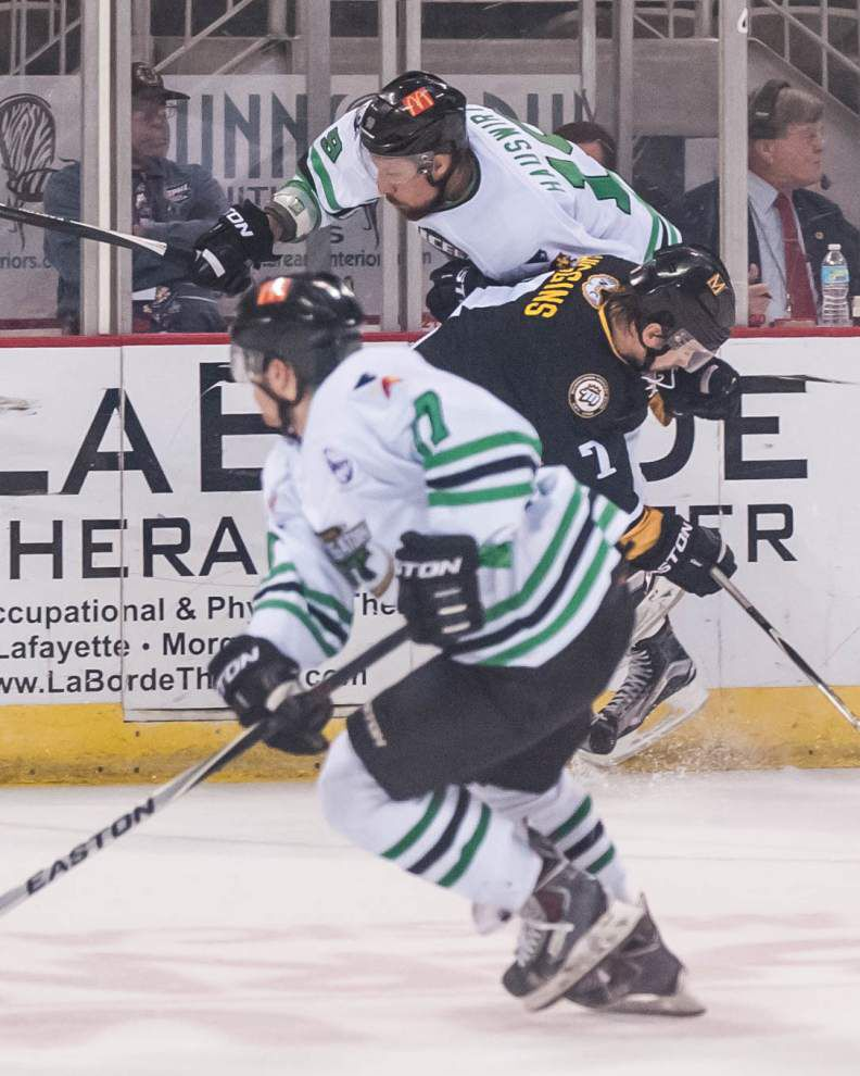 Mississippi RiverKings beat IceGators 5-2, clinch SPHL playoff series _lowres