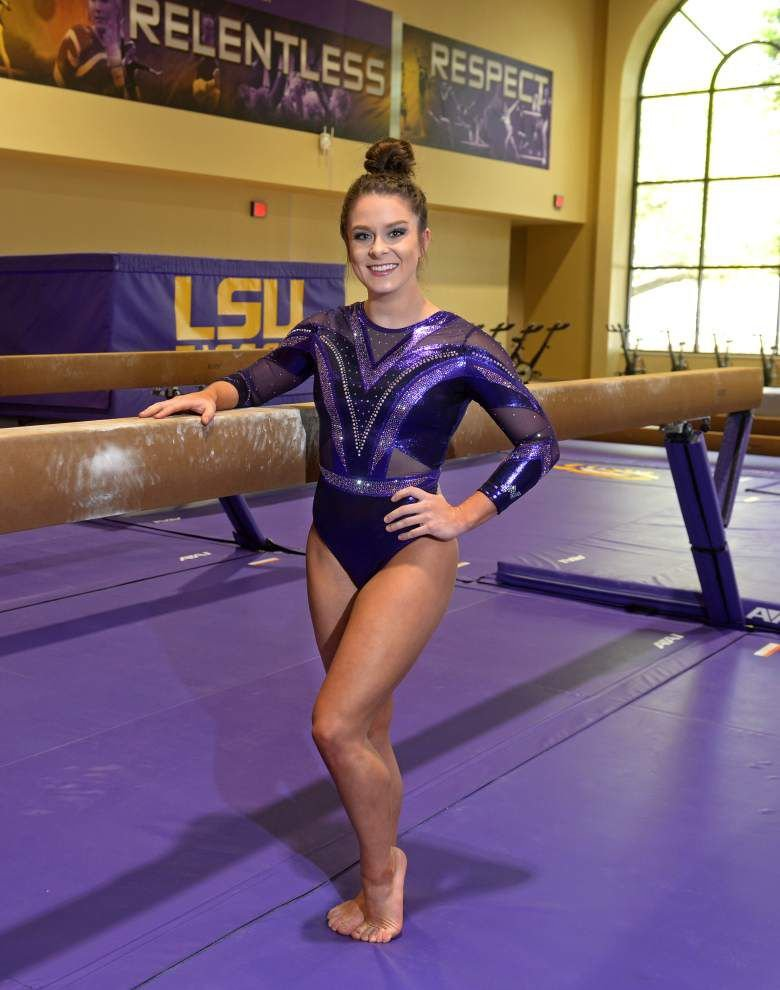 Faith and glory: LSU gymnast Sydney Ewing's beliefs don't diminish her competitive fire _lowres