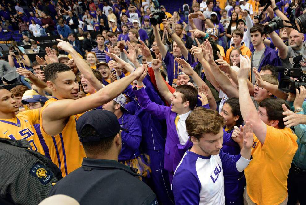 Top ESPN bracketologist moves LSU basketball up to No. 7 seed after Tigers beat Texas A&M _lowres