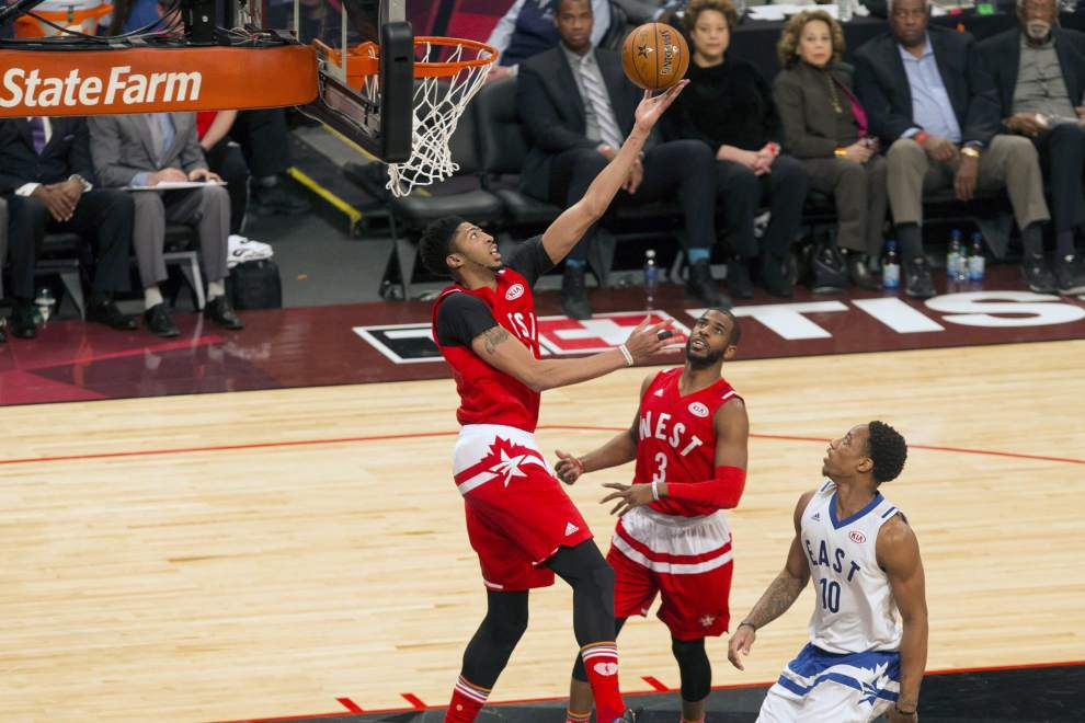 Pelicans' Anthony Davis, Clippers' Chris Paul make nice team in All-Star game _lowres
