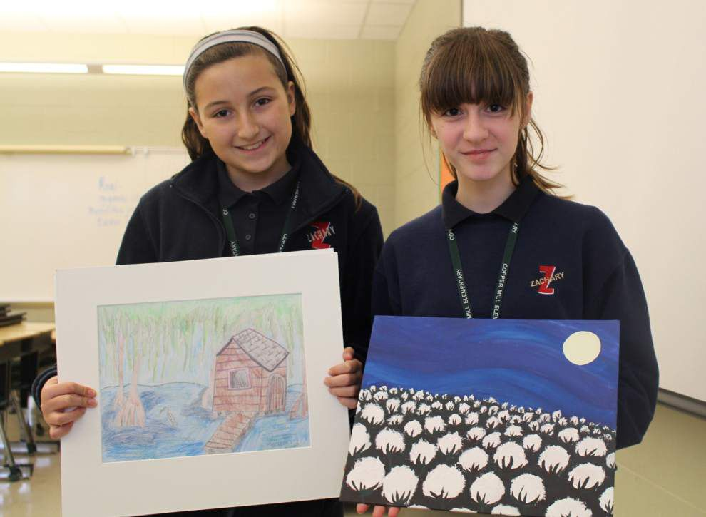 Copper Mill students to compete in art contest _lowres