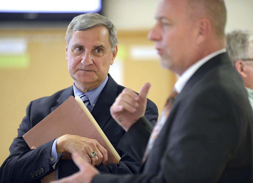 Don Aguillard chosen superintendent of Lafayette Parish school system _lowres
