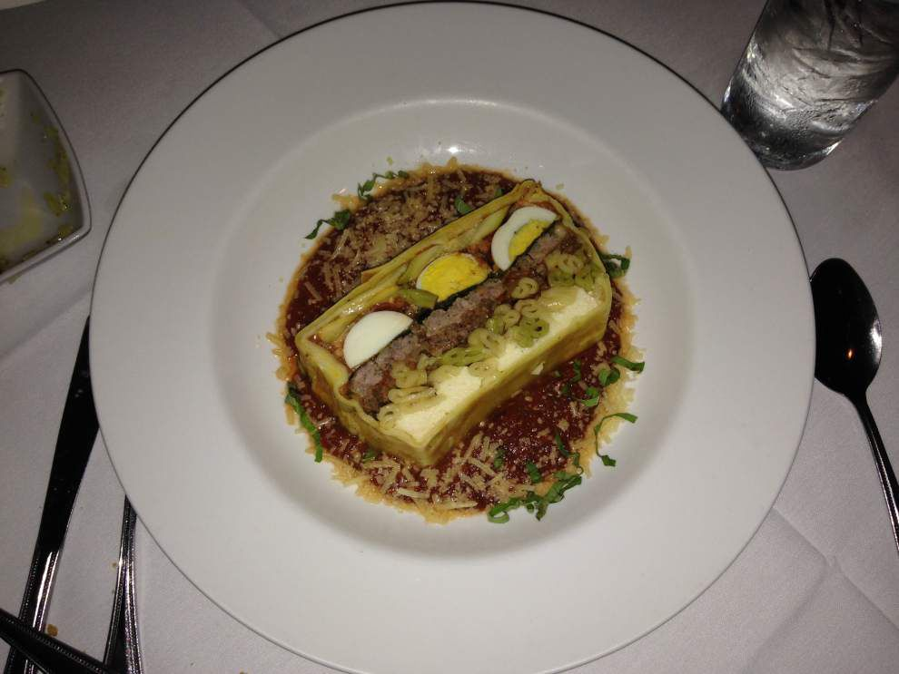 Review: Nino's subtleties let menu selections shine as stars _lowres