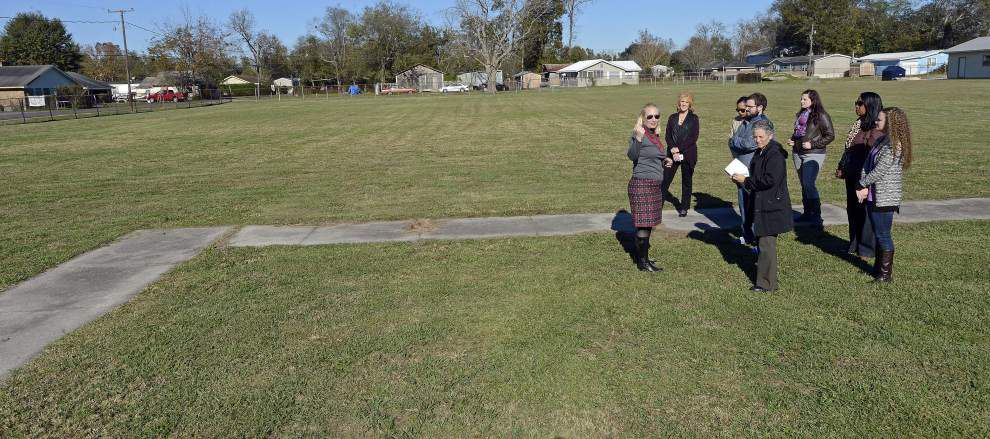 LSU students designing new park for Donaldsonville get ideas, help from kids _lowres