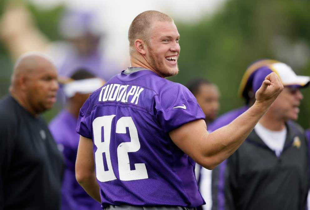 Kyle Rudolph expecting big year after pay raise _lowres