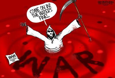Walt Handelsman: Iran Tensions Rise