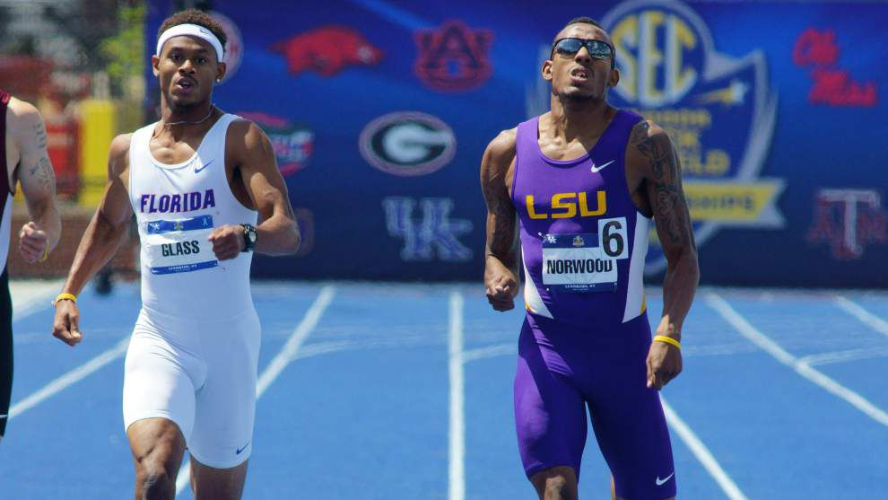 LSU's men's track team reminds coach Dennis Shaver of squad that almost won 2012 crown _lowres
