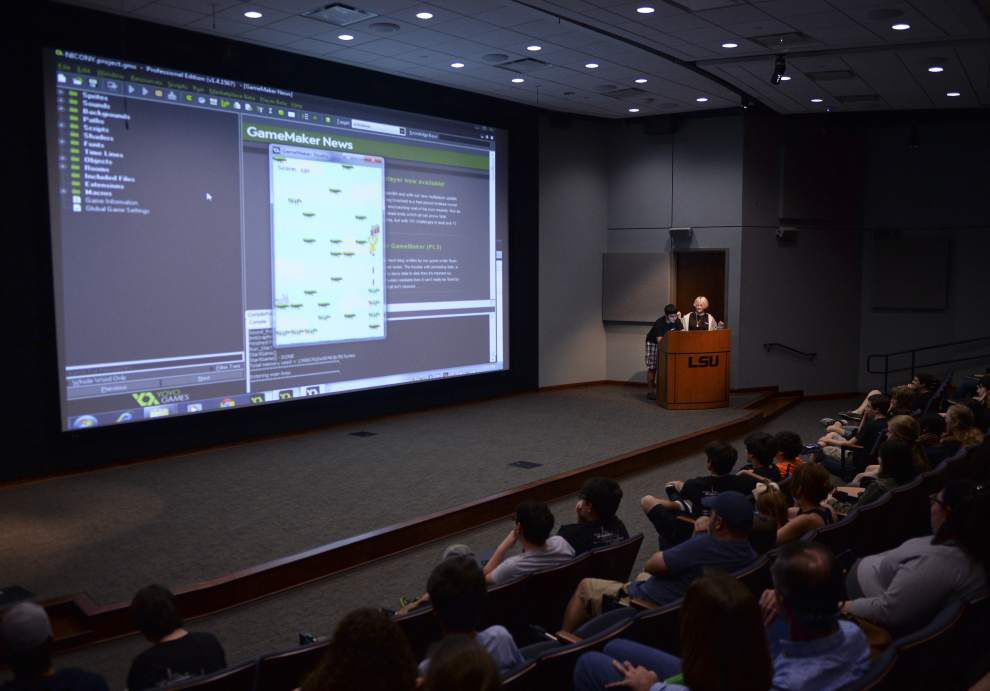 At LSU's game design camp, students endure crashes, code errors because 'it's all worth it at the end' _lowres