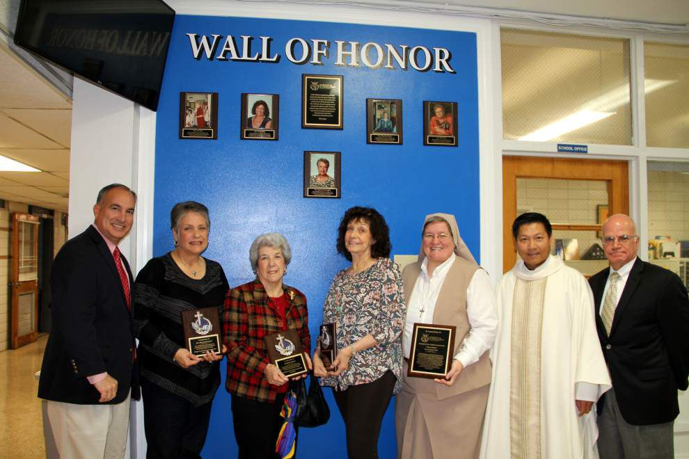 St. Matthew the Apostle School establishes Wall of Honor _lowres