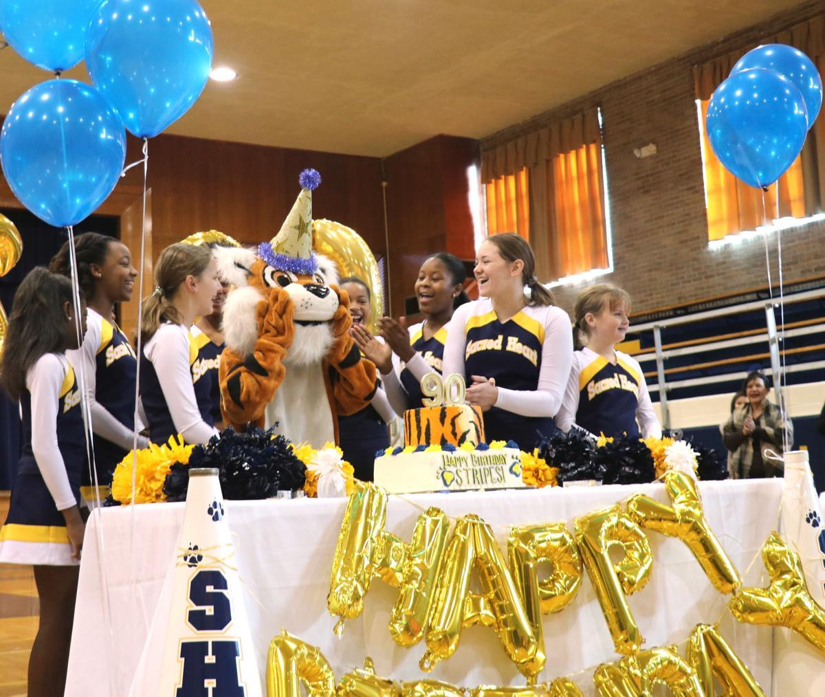 Sacred Heart 90 Stripes cheerleaders.jpg