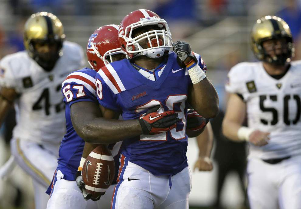 Louisiana Tech faces North Texas to open Conference USA play _lowres